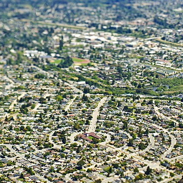 Church in the Center of a Neighborhood, Santa Cruz, California, United States of America