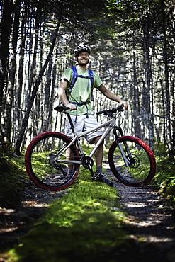 Mountain Biking, Cape Breton Island, Nova Scotia, Canada