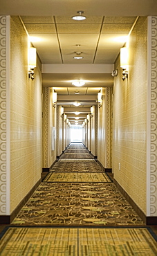 Hotel Corridor, Richmond, Virginia, United States of America