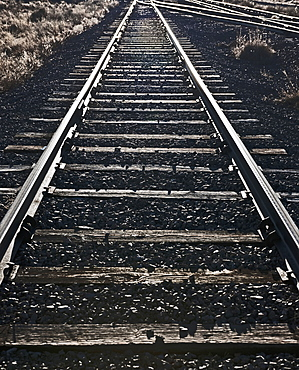 Railroad Tracks, Socorro, New Mexico, United States of America