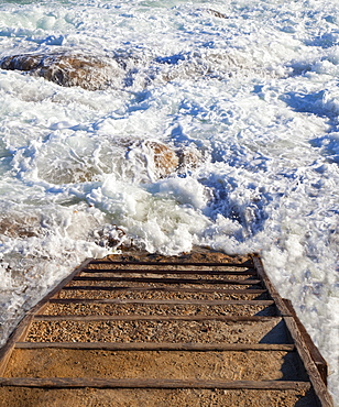 Stairway to Ocean Surf, California, United States of America