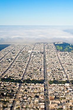 Aerial View of San Francisco, San Francisco, California, United States of America
