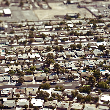 Aerial View of Residential Area, Richmond, California, United States of America