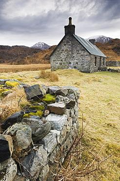 Old stone cottage, Ross-shire, Scotland, UK