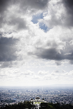 Los Angeles Beneath Cloudy Sky, Los Angeles, California, United States of America