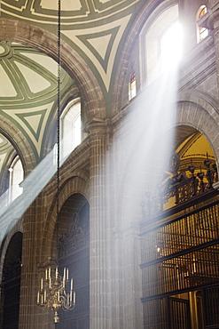 Interior of Mexico City Metropolitan Cathedral, Mexico City, Mexico