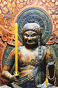 Statue of Fudo Myo-o, Honshu island, Japan, Asia