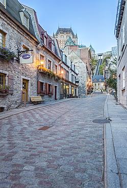 Chateau Frontecac, Quebec, Canada