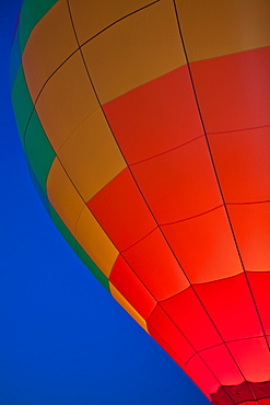 Hot Air Balloon Lit Up at Night, Tigard, Oregon, United States