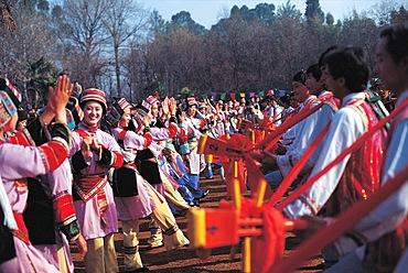 Third Month Fair of Bai ethnic in Dali, Yunnan
