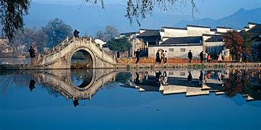 Hongcun Village in Yixian, Anhui