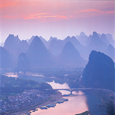 Lijiang River in Guilin, Guangxi