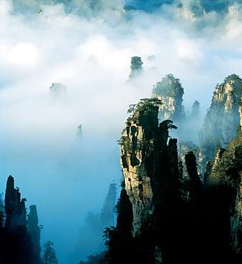 Mt.Tianzi in Zhangjiajie, Hunan