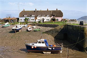 Porlock Weir, Somerset, England, United Kingdom, Europe