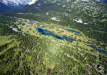 Elevated View of Banff National Park, Canada