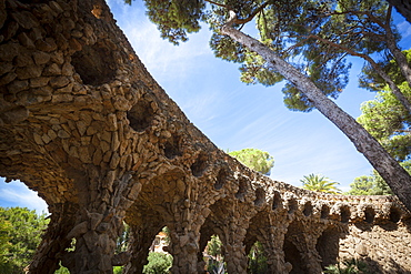 Parc Guell, UNESCO World Heritage Site, Barcelona, Catalonia, Spain, Europe