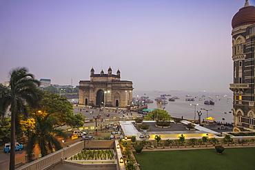 View of Gateway of India, Mumbai, Maharashtra, India, Asia
