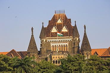 Oval Maidan and Bombay High Court, Fort Area, Mumbai, Maharashtra, India, Asia