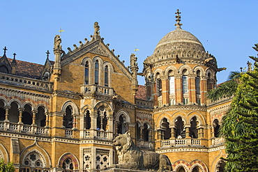 Chhatrapati Shivaji Terminus, UNESCO World Heritage Site, Mumbai, Maharashtra, India, Asia