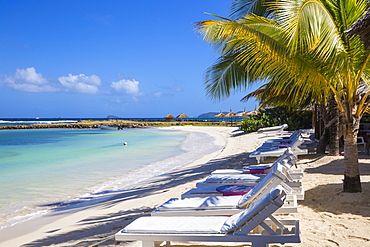 Big Sands beach at Belmont Bay, Union Island, The Grenadines, St. Vincent and The Grenadines, West Indies, Caribbean, Central America