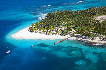 View of Palm Island, The Grenadines, St. Vincent and The Grenadines, West Indies, Caribbean, Central America