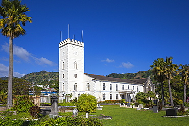St. Georges Anglican Church, Kingstown, St. Vincent, St. Vincent and The Grenadines, West Indies, Caribbean, Central America