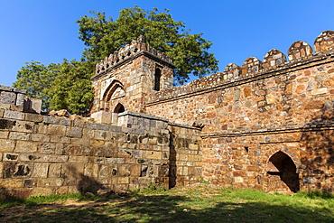 Tomb of Sikander, Lodi Gardens, New Delhi, Delhi, India, Asia