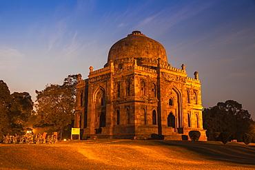 Shish Gumbad Tomb, Lodi Gardens, New Delhi, Delhi, India, Asia