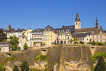 The Corniche (Chemin de la Corniche), Luxembourg City, Luxembourg, Europe