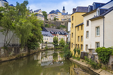 The Grund (Lower Town), Luxembourg City, Luxembourg, Europe