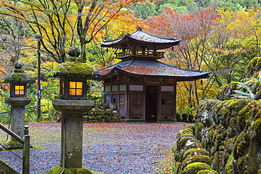 Otagi Nenbutsu-ji Temple, Arashiyama, Kyoto, Japan, Asia