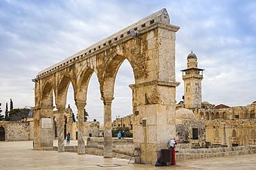 Temple Mount, Old City, UNESCO World Heritage Site, Jerusalem, Israel, Middle East