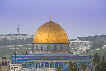 Dome of the Rock, Old City, UNESCO World Heritage Site, Jerusalem, Israel, Middle East