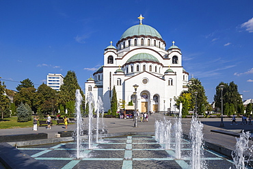 St. Sava Temple, the largest Orthodox Cathedral in the world, Belgrade, Serbia, Europe