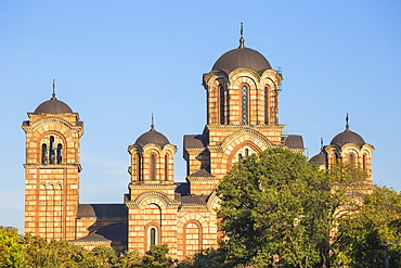 St. Mark's Church, Tasmajdan Park, Belgrade, Serbia, Europe