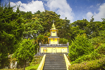 Ambarita village, Tomb of Laga Siallagan, the first chief of Ambarita, Lake Toba, Samosir Island, Sumatra, Indonesia, Southeast Asia, Asia