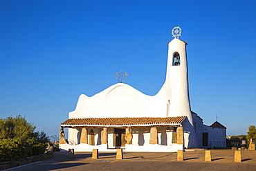 Stella Maris Church, Porto Cervo, Costa Smeralda, Sassari Province, Sardinia, Italy, Mediterranean, Europe