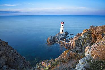 Capo Ferro Lighthouse, Capo Ferro, Porto Cervo, Costa Smeralda, Sardinia, Italy, Mediterranean, Europe