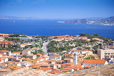 View of Palau, Palau, Sassari Province, Sardinia, Italy, Mediterranean, Europe