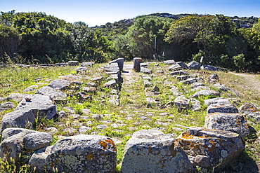 Lu Brandali archaelogical site, The Giant's tomb, Santa Teresa Gallura, Sardinia, Italy, Mediterranean, Europe
