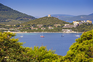Capo Caccia, Porto Conte National Park, Alghero, Sardinia, Italy, Mediterranean, Europe