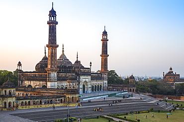 Asifi Mosque at Bara Imambara complex, Lucknow, Uttar Pradesh, India, Asia