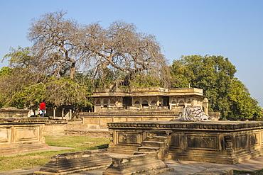 Ghaus Mohammed's Tomb, Gwalior, Madhya Pradesh, India, Asia