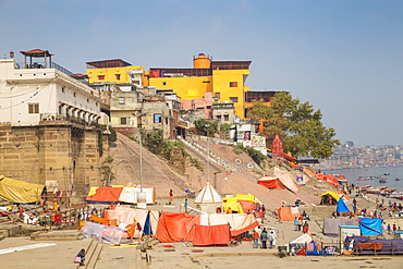 Manikarnika Ghat, Varanasi, Uttar Pradesh, India, Asia