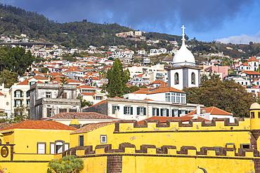 Sao Tiago Fort, Funchal, Madeira, Portugal, Atlantic, Europe