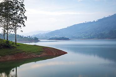 Castlereagh Lake, Hatton, Central Province, Sri Lanka, Asia