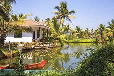 Resort on Munroe Island, Kollam, Kerala, India, Asia