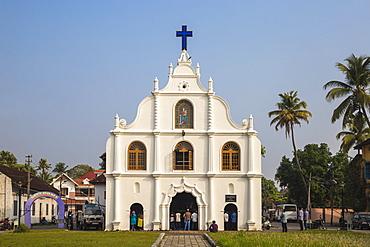 Our Lady of Hope Church on Vipin Island, Cochin (Kochi), Kerala, India, Asia