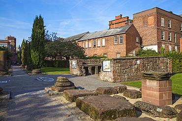 Chester Roman Gardens, Chester, Cheshire, England, United Kingdom, Europe