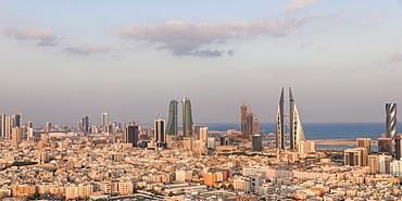 City skyline, Manama, Bahrain, Middle East